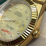 Rolex GoldF watch