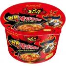 Samyang Buldak 2x Nuclear Hot Chicken Ramen Bowl Red